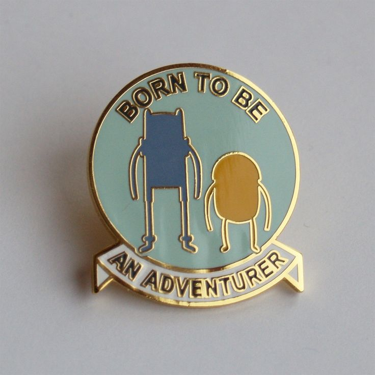Image of Adventure Time lapel pin