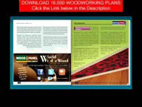 Wood  Panel USA May  June 2016 Issue  Woodwork Table Plans
