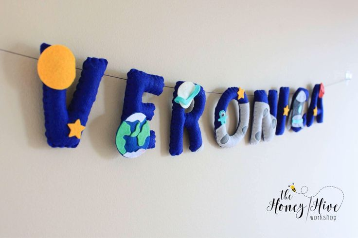 Outer space nursery letters, outer space birthday, space birthday banner, outer space name, space baby, space decor, space banner by TheHoneyHiveWorkshop on Etsy https://www.etsy.com/ca/listing/539639155/outer-space-nursery-letters-outer-space