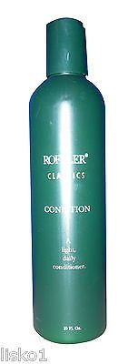 "ROFFLER ""CLASSICS HAIR CONDITIONER "" FOR DAILY USE 1 - 10 OZ. BOTTLE green"