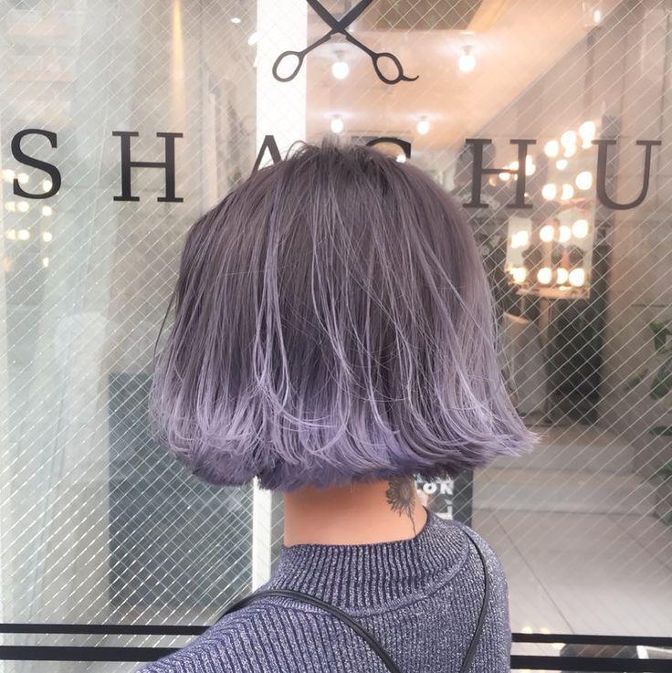Japanese Color Hairstyle #shachu_hair #Akiwarinda