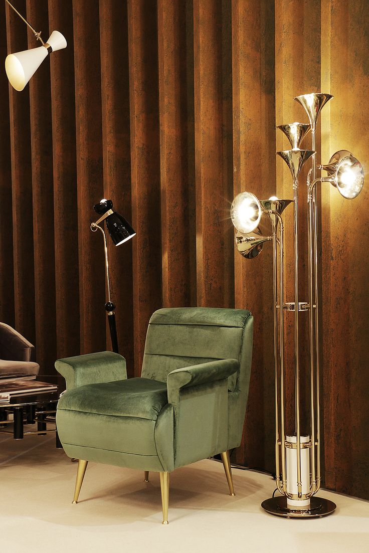 DelightFull 's Botti Floor Lamp is also available at the exhibition!