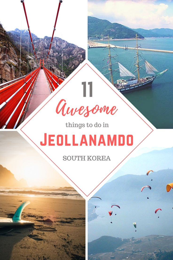 11 Awesome Things to do in Jeollanamdo // SOUTH KOREA