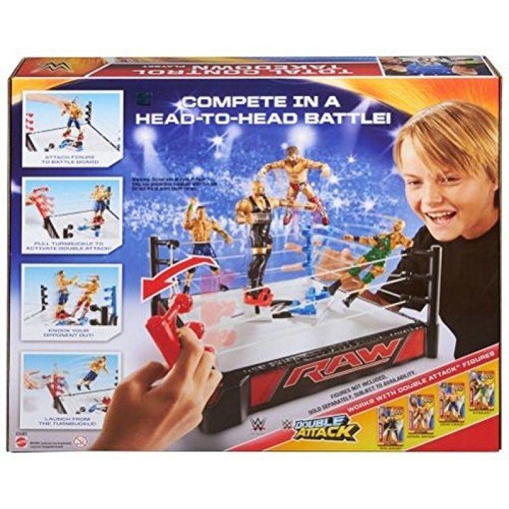 Juguete WWE SUPER RING LANZA LUCHADORES Precio 36,52€ en IguMagazine #juguetesbaratos