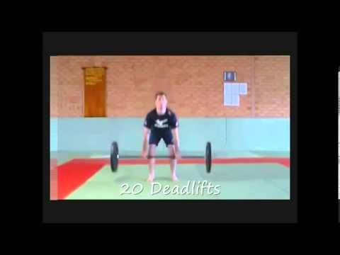 Workouts for Judo Video Demo - Judo Workout Video