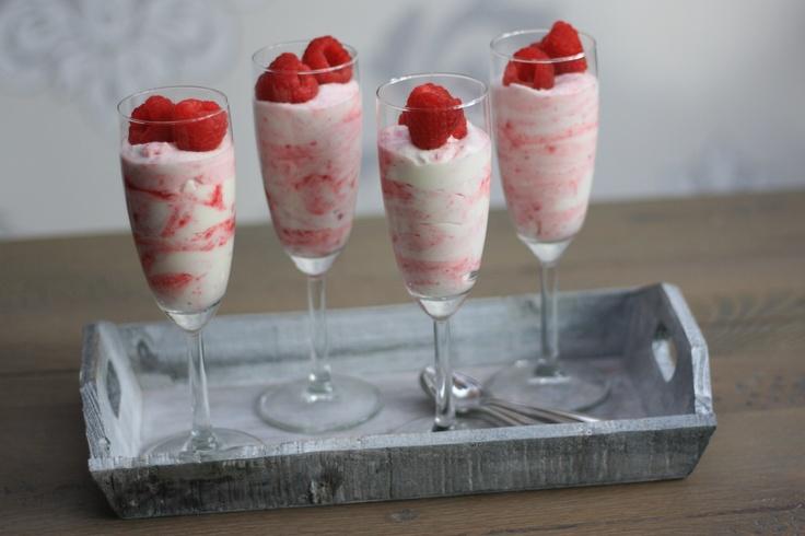 framboos mascarpone dessert