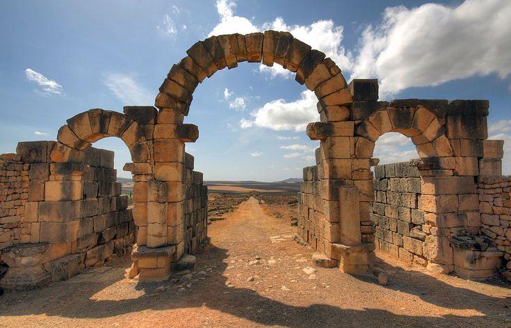 Volubilis Tingis Gate - Site archéologique de Volubilis