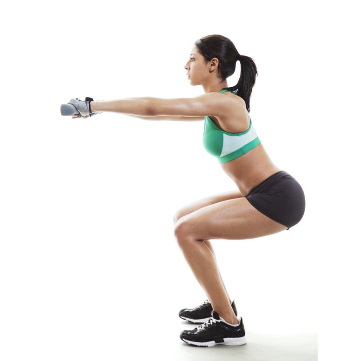 Drop It Like It's Hot: A 20-Minute Booty Workout With Playlist!