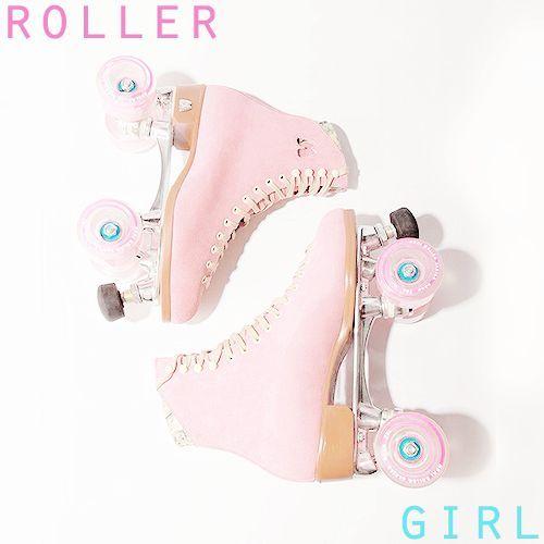 Patinar en línea mola, pero con patines de cuatro ruedas ya ni te cuento, además mirad ¡qué bonitos son! Así que… si te vas a caer algún día… ¡al menos que sea con estilo! #rollerskates #pink #girl #loveit