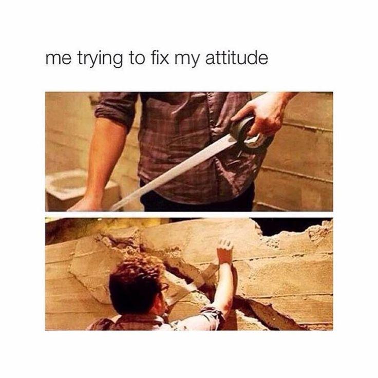 when I'm really upset