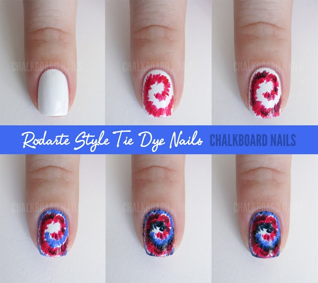 Best 25 tie dye nails ideas on pinterest diy tie dye chalkboard nails sally hansen x rodarte tie dye and floral mix tutorial prinsesfo Image collections