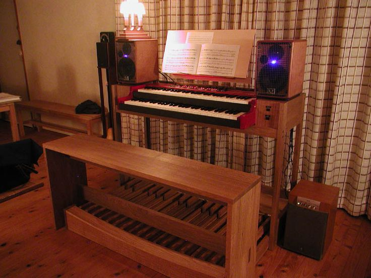 Nord C2, stand and organ bench