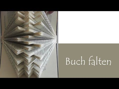Book folding - Easy Tutorial - DIY - YouTube