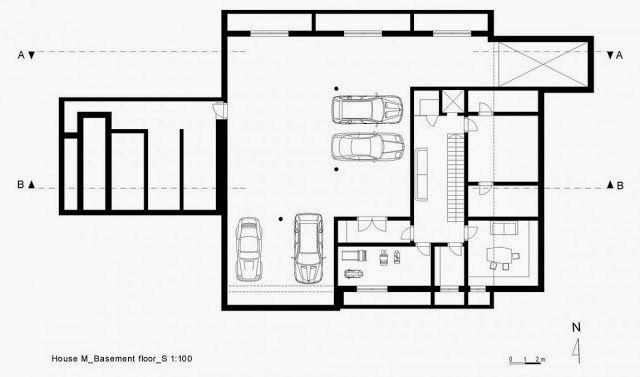 Casa toda branca com planta arquitetura e decora o for Plantas arquitectonicas minimalistas
