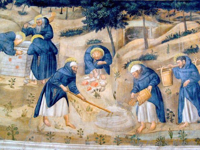 Napoli (NA), 2011, Chiesa di San Giovanni a Carbonara: affreschi della Cappella Caracciolo.