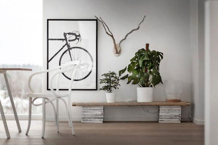 Heerlijk licht Scandinavisch interieur met neutraal kleurenpalet - Roomed