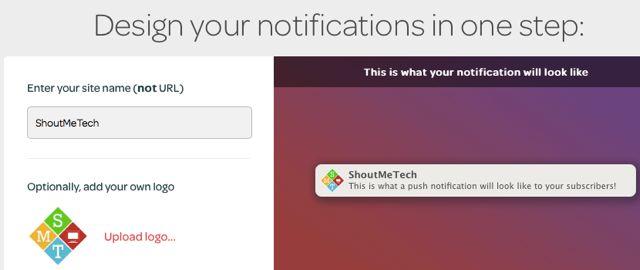 Customize Web push Notification
