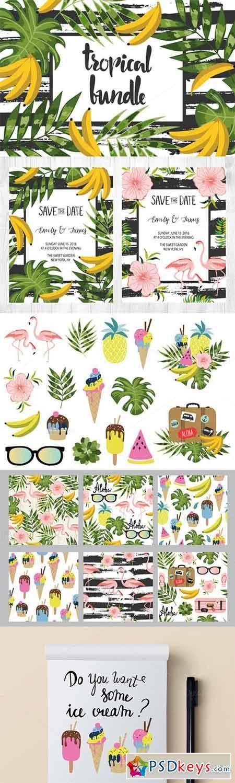 Amazing Tropical Bundle for decor 315452