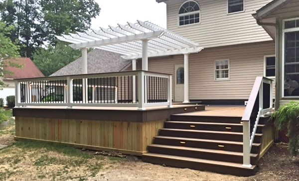 1000 Ideas About Vinyl Deck Railing On Pinterest Pvc