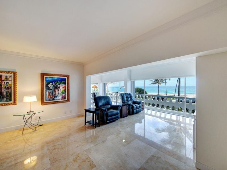 300 S Ocean Blvd - Unit 2D - Distinctive Realty Group Spectacular newly renovated two bedroom/two bathroom condo with Direct breathtaking ocean views. New marble flooring throughout living rooms,bedrooms and Bathrooms. Large eat-in kitchen with new marble counter-tops and all upgraded appliances. Abundance of fitted closets included in both master and 2nd bedroom.Hurricane Impact Windows and 2 new Bathrooms and upgraded Electrical through-out.