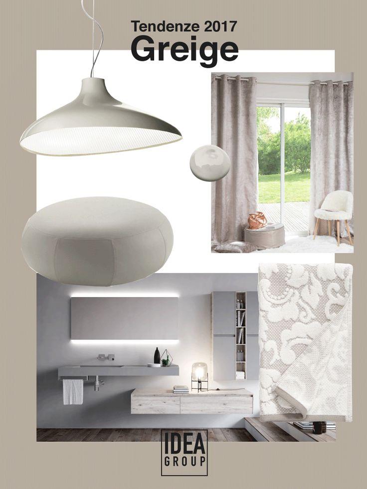 Il greige non è grigio e non è beige. È un mix tra le due nuance più amate da designer e architetti, il compromesso perfetto per chi non riesce a mai scegliere tra le due. Volete inserirlo nella vostra casa? Ecco qualche ispirazione! #design #interiors #home #decor #bathroom #bagno #arredamento