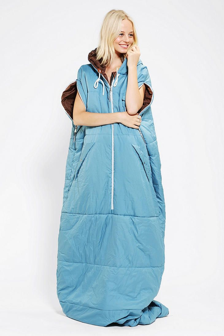 558ebebbd92 This takes the Snuggie to a whole new level!!!!! Poler Napsack Sleeping Bag  - Urban Outfitters