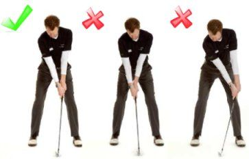 Correct Position Of The Hands | Free Online Golf Tips