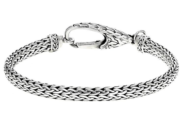Sterling Silver Snake Chain Bracelet Bracelets Silver Sterling