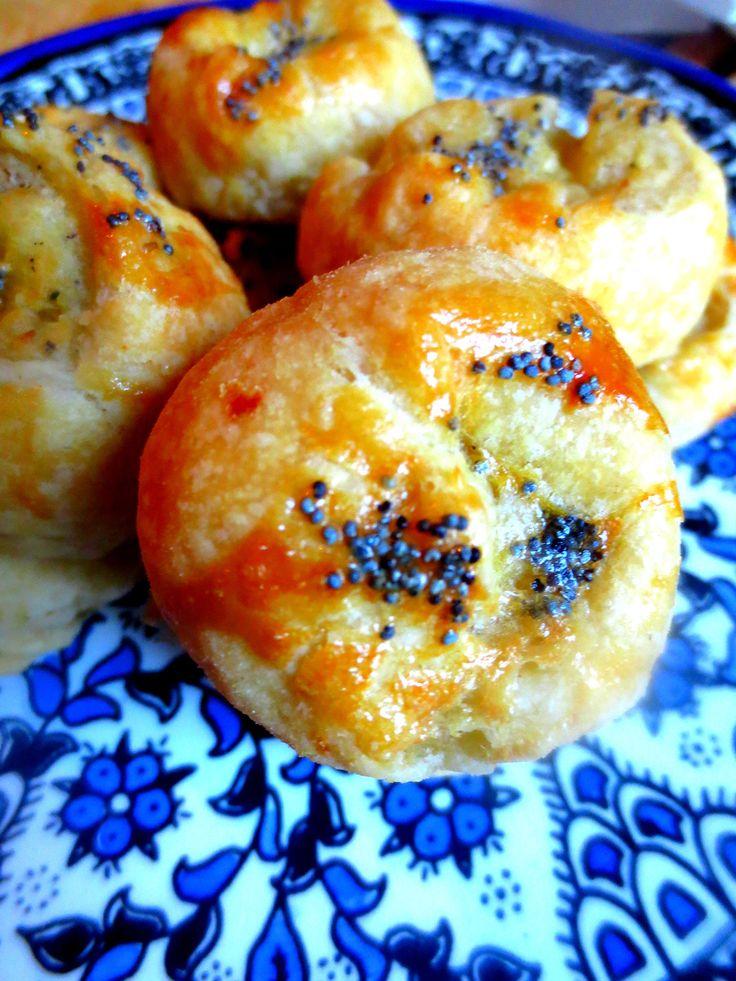 Knishes de Pommes de Terre et Oignon / Potato & Oignon Knishes / Knisches de Papa & Cebolla