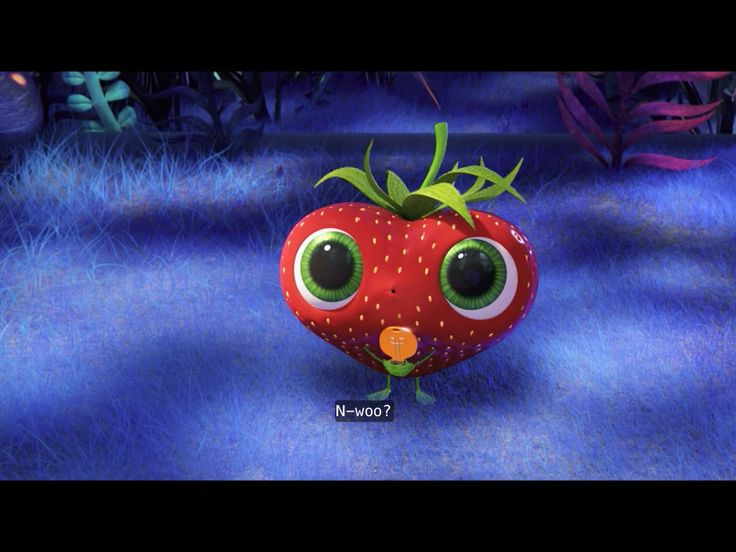 Cloudy With A Chance Of Meatballs 2 Berry Is So Cute