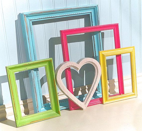 shabby chic frame set sugary sweet