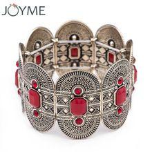 2016 moda vintage bronce antiguo de plata antiguo calado pulsera cuff bracelet & bangle para para la joyería retro(China (Mainland))