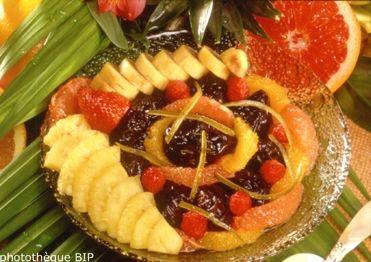 Salade Fruitée aux Pruneaux