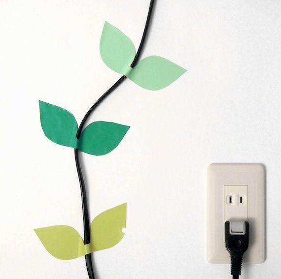 Decorate your cables at the wall - mach aus deinen Kabeln eine Wanddeko - no tutorial