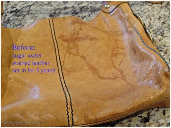 How to clean and condition a leather purse - Ask Anna