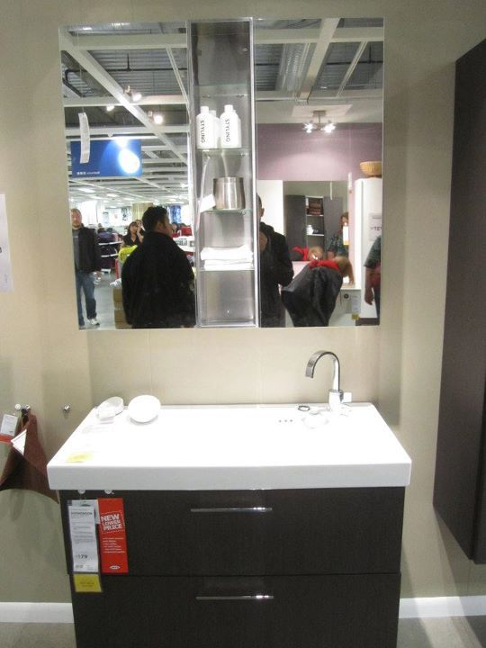 17 best images about ikea bathrooms on pinterest ikea - Vanities for small bathrooms ikea ...