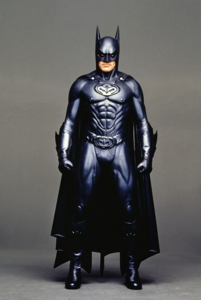 I think with a better script, better suit, and a good director George Clooney would have made a killer Batman.