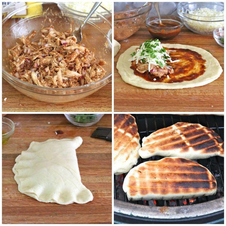 Grilled BBQ Chicken Calzone's   Chicken/Turkey   Pinterest