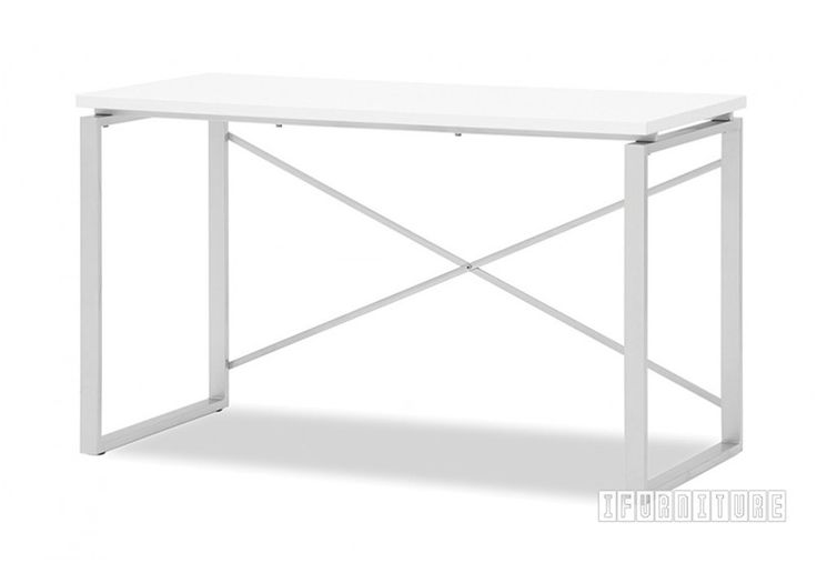 MIAMI White Gloss Desk , Office, NZ's Largest Furniture Range with Guaranteed Lowest Prices: Bedroom Furniture, Sofa, Couch, Lounge suite, Dining Table and Chairs, Office, Commercial & Hospitality Furniturte