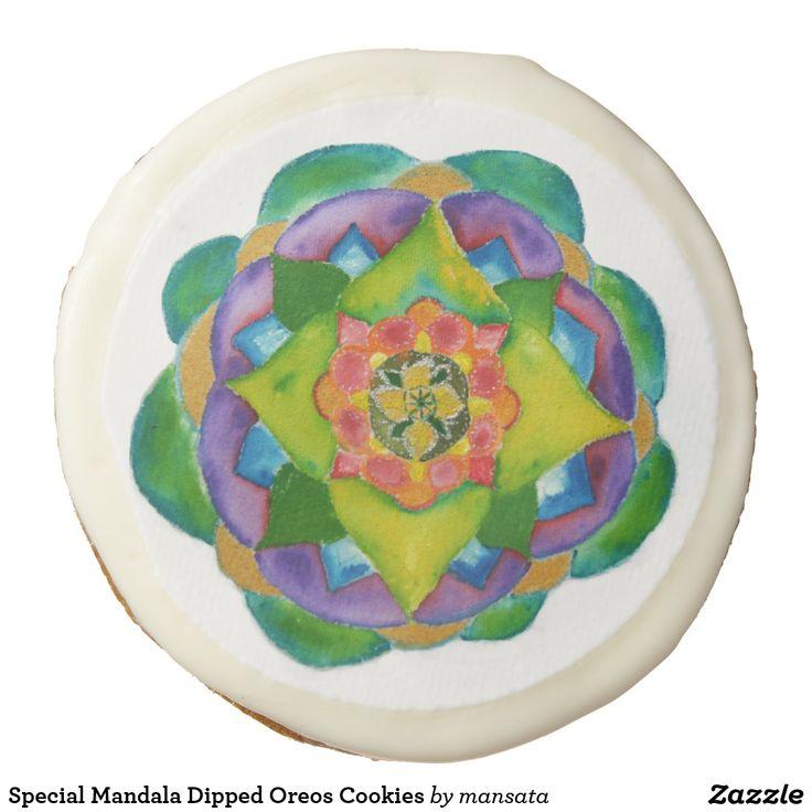 Special Mandala Dipped Oreos Cookies | Zazzle.com | Oreo ...