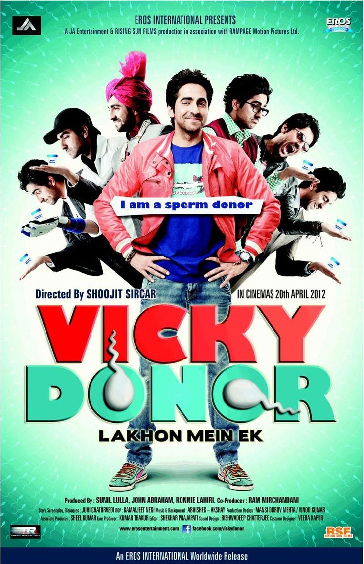 Vicky Donor... cute movie... surpassed all expectations and what acting by annu kapoor... he is just hilarious... and so is this the entire cast...