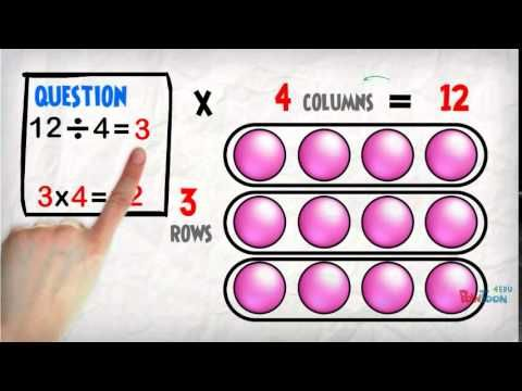 Beginning Division: using arrays - YouTube