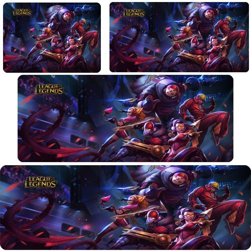 electronic 2016 new lol mouse pad SKT champion skin mousepad laptop mouse pad gear notbook computer gaming mouse pad gamer