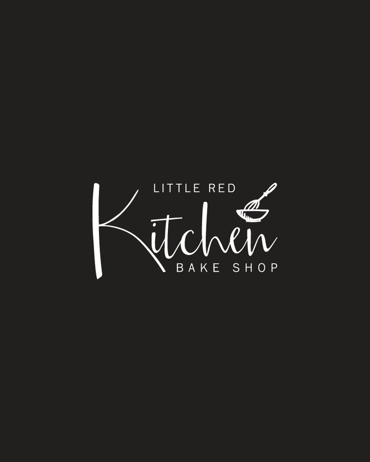 Branding, print, and website design for Little Red Kitchen Bake Shop, a cookie shop located online and based in New York. Design by White Oak Creative!