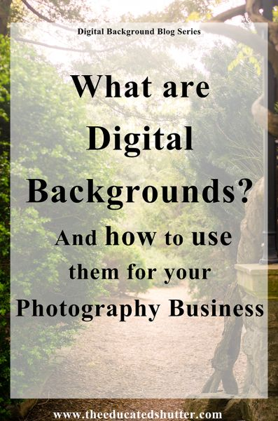 Learning how to use Digital Backgrounds has set me apart from other…