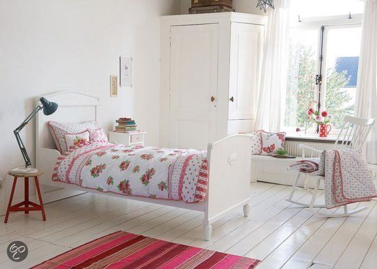 25 beste idee n over bloemen slaapkamer op pinterest bloemen slaapkamer decor slaapzaal - Schilderij slaapkamer meisje ...