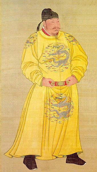 Emperor Taizong of Tang (January 23, 599 CE – July 10, 649 CE), personal name Lǐ Shìmín, was the second emperor of the Tang Dynasty of China, ruling from 626 to 649 CE. As he encouraged his father, Li Yuan (later Emperor Gaozu) to rise against Sui Dynasty rule at Taiyuan in 617 CE and subsequently defeated several of his most important rivals, he was ceremonially regarded as a co-founder of the dynasty along with Emperor Gaozu.
