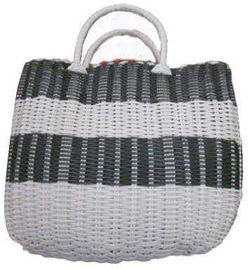 Plastic Weave Shopping Bag #ad