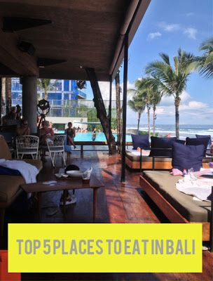 My top five places to eat in #Bali (Seminyak). / Originally featured on North of Here.
