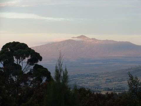Home Sweet Home... the view from Rift Valley Academy.